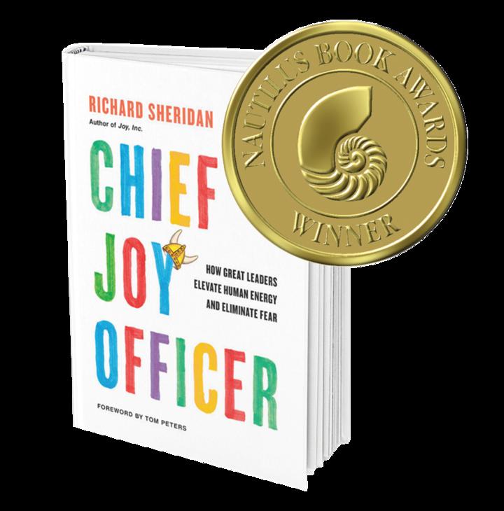 Rich Sheridan's book Chief Joy Officer